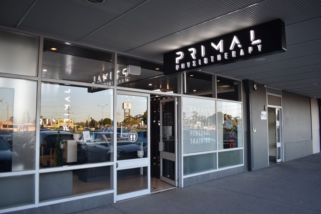 Primal Physiotherapy Exterior Entrance