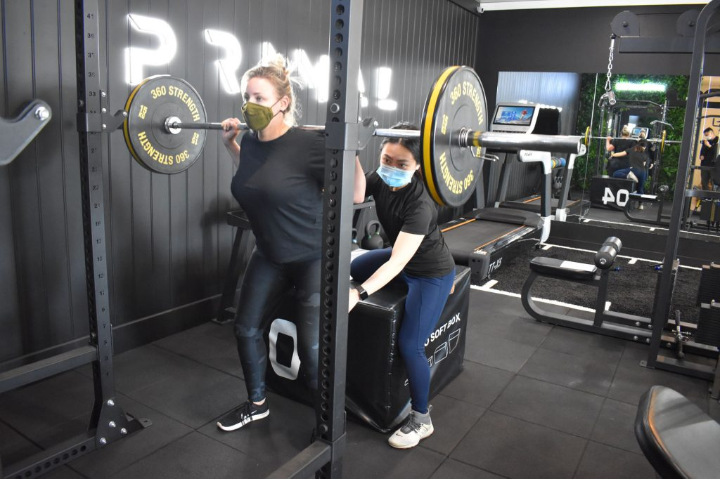 Primal Physiotherapy squat exercise