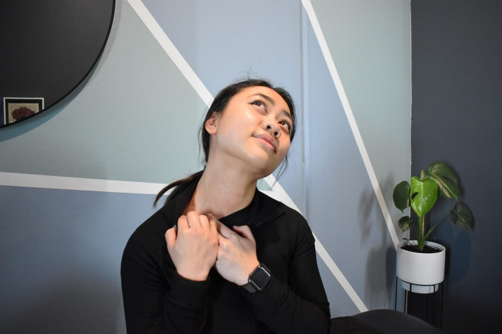 Scalene neck stretch